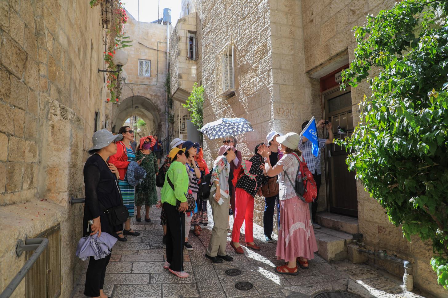 Jeruzalem bezoeken