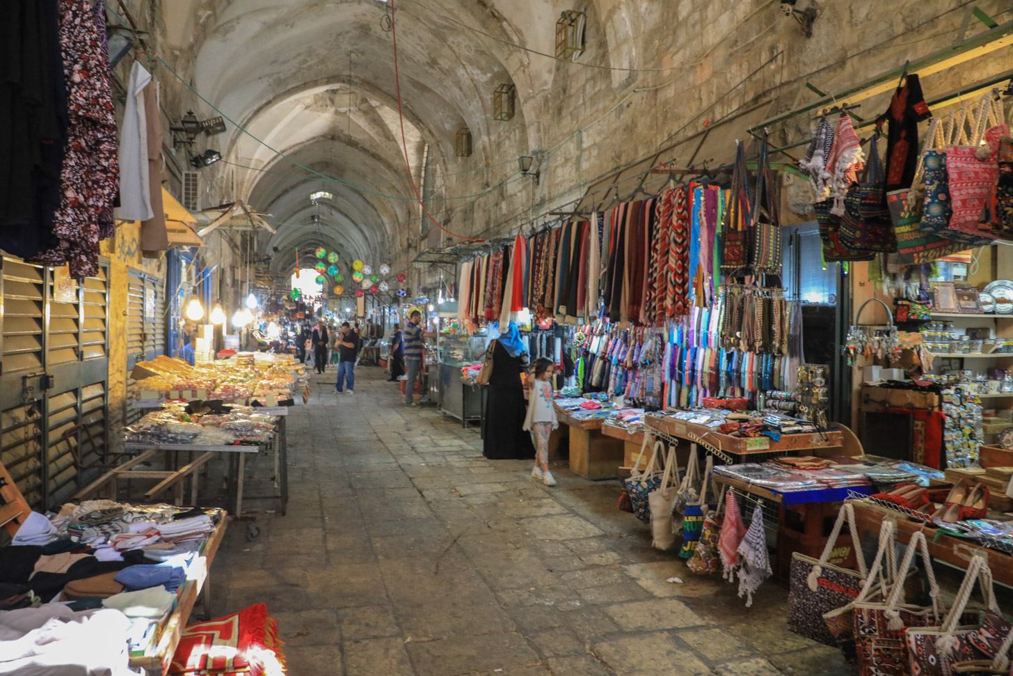 Winkelen in Jeruzalem