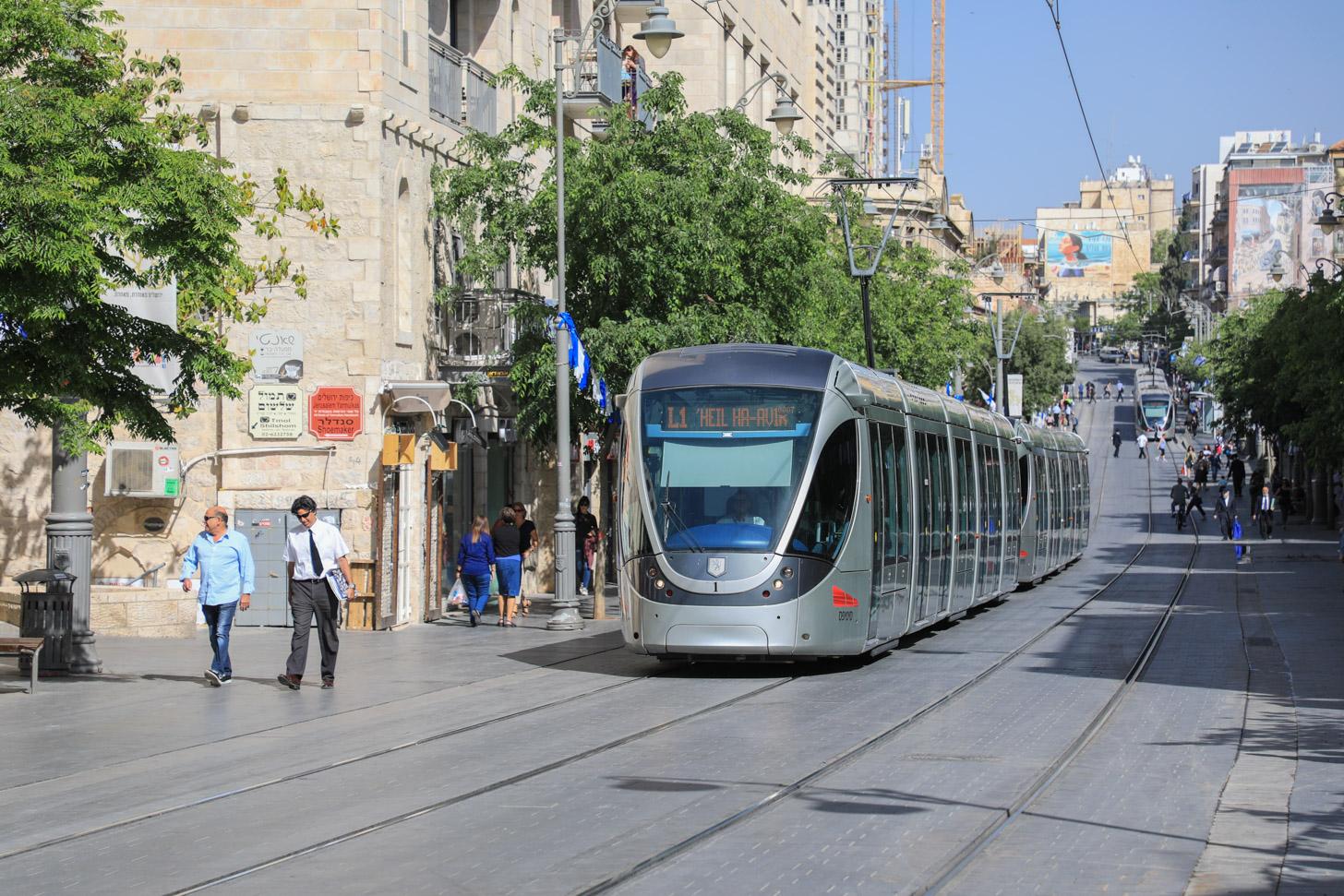 Vervoer in Jeruzalem
